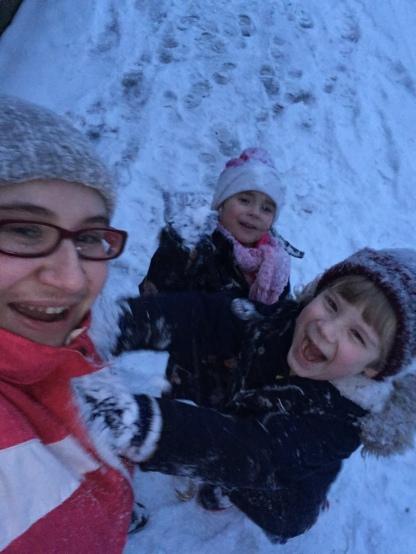 Snow Selfie