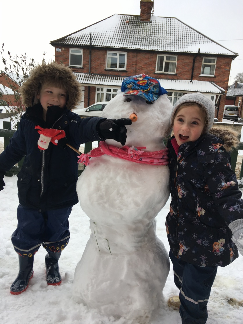 Monkey, Mr Snowman and Poppet