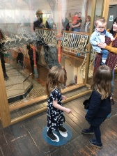 Poppet and Bebe not too sure about Dippy