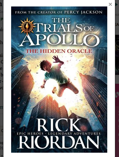 *Book Review* The Hidden Oracle (The Trials of Apollo,#1)