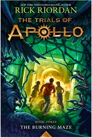 *Book Review* The Burning Maze (The Trials of Apollo,#3)