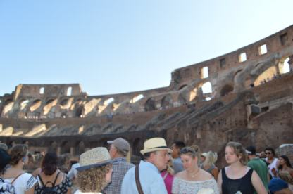 More of the colosseum.