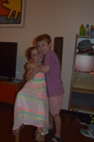 sibling love?!