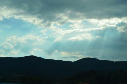 Even the sky is pretty!