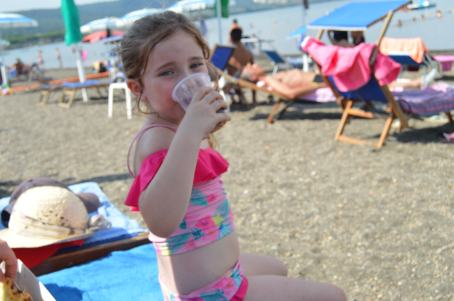 Thirsty work - all that swimming