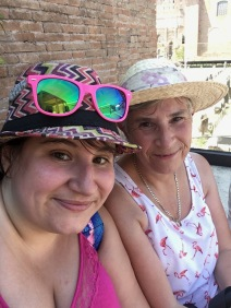 Me and Mamma Butterfly back in Italy and loving it!