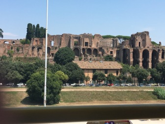 More of the Roman Forum by bus