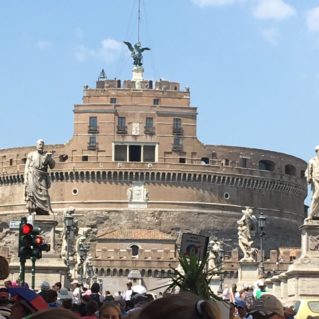One of my favourite views - Castle Sant Angelo