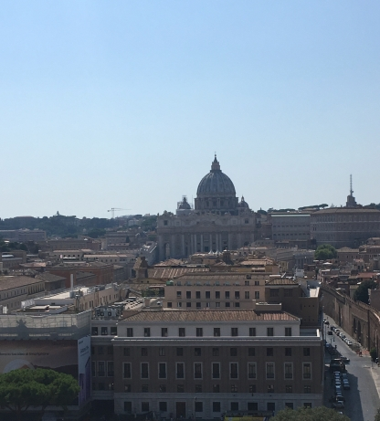 Again a wonderful view of St Peters