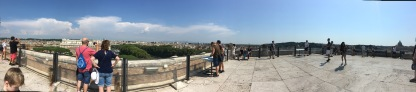 Trying to get a panoramic view of Rome