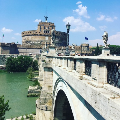 Castle and Post Sant Angelo - beautiful!