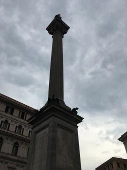 Column outside Basilica di Santa Maria Maggiore