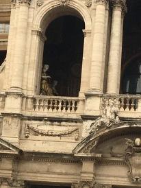 Gold Statues in Maria Maggiore