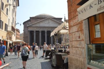 Pantheon Arrival
