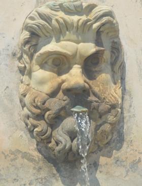 Aqua Non Potable - not drinking water
