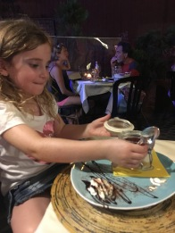 Poppet loves a good cheesecake