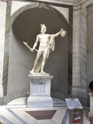 Perseus and the Head of Medusa
