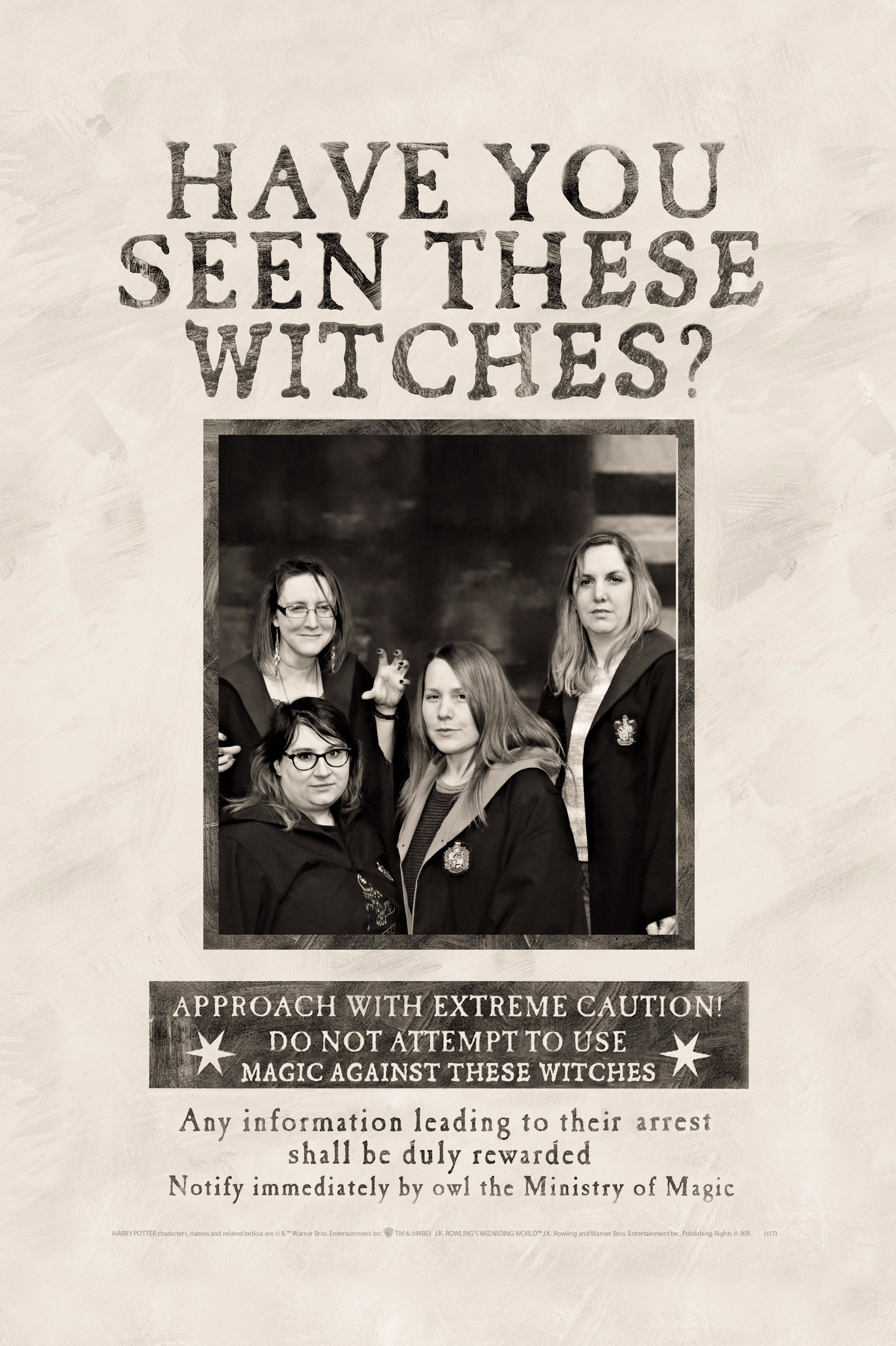 Have you seen these b*tches, I mean witches...